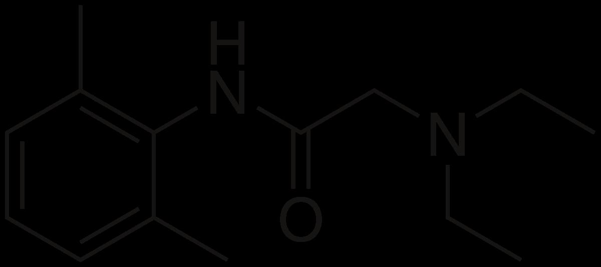 formula-lidokain