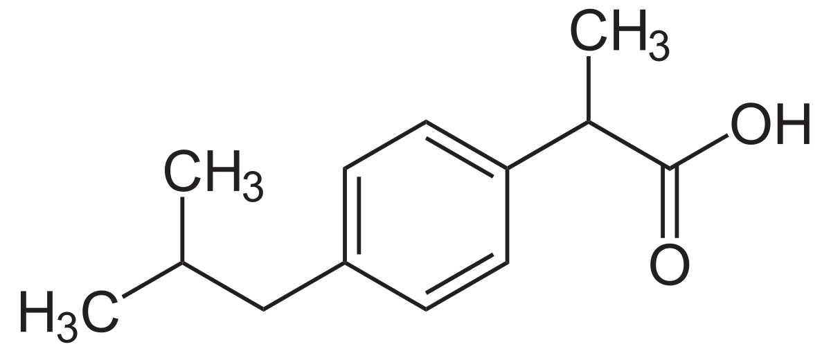 ibuprofen-formula