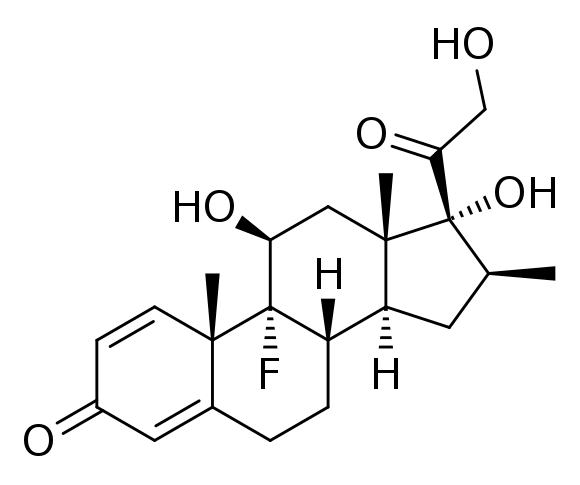 betametazon-struktura